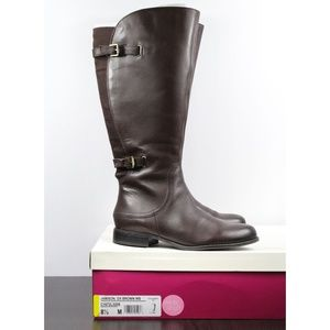 Naturalizer Jamison Leather Tall Boot Wide Shaft